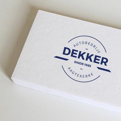 Logo Autobedrijf Dekker
