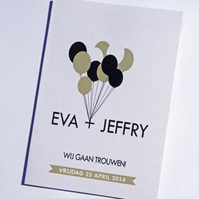 Trouwhuisstijl Eva & Jeffry